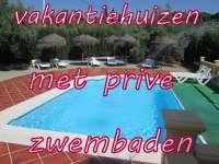 vakantiehuizen met prive zwembaden