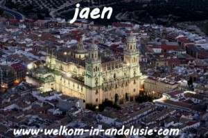 Jaen in Andalusie zuid Spanje