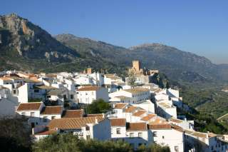 Zuheros mooi wit dorpje