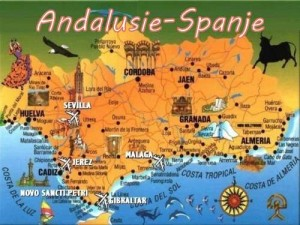 andalusie zuid Spanje