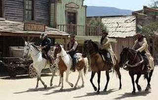 cowboys in mini hollywood