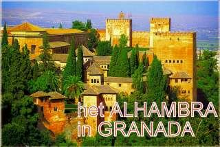 hooftgebouw van Alhambra Andalusie