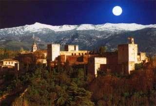 Alhambra Met maanverlichting