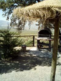 vakantiehuis met barbeque