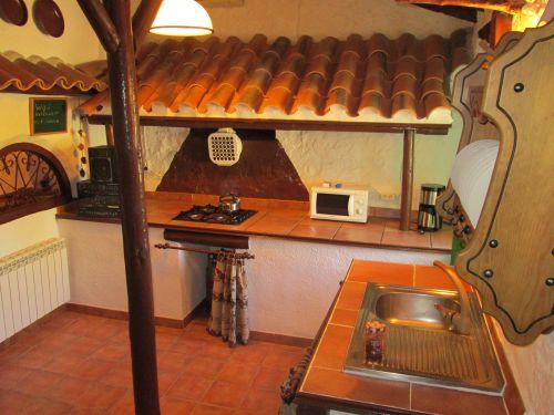 keuken vakantiehuis boerderij