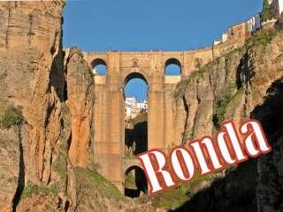 de bekende brug van Ronda