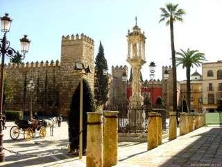 Sevila , Alcazar gebouw