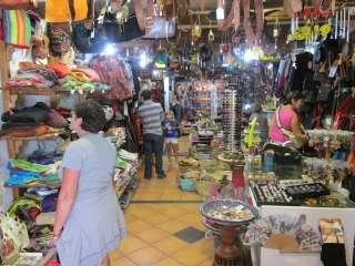 Soevenirswinkels in de stad Cordoba