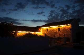 gezellige buitenverlichting vakantiehuis