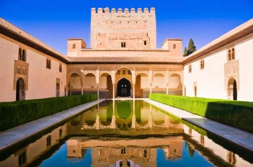 moslims, moslimse afkomst, Alhambra