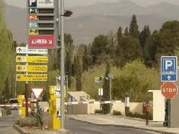 parkeerplaats Alhambra Granada