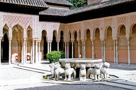 patio de leones Alhambra
