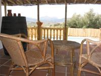 terras vakantiehuis andalusie
