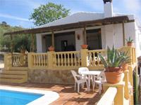 vakantiehuis met terras andalusie