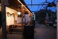 patio van vakantiewoning