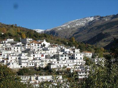 Trevelez in Andalusie, Alpujarra
