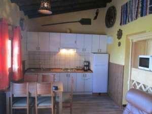 keuken vakantiehuisje