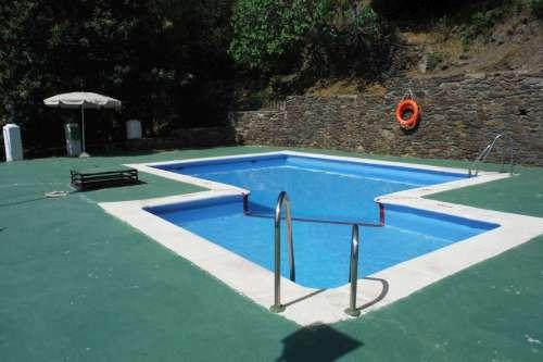 uitzicht zwembad