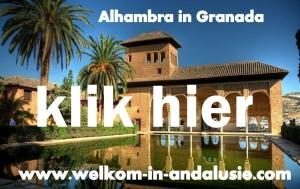 tijdens uw vakantie in Andalusie Alhambra bezoeken
