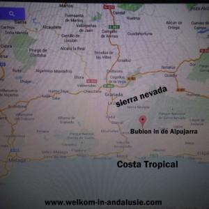 kaart bubion google maps