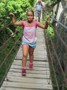los cahoors wandeling met hangbrug