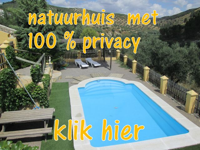 privacy in de natuur