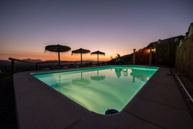 nachtverlichting prive zwembad