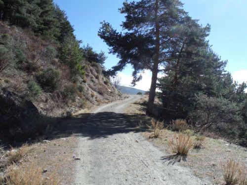 wandelroute in Alpujarra, Alpujarras streek, Andalusie