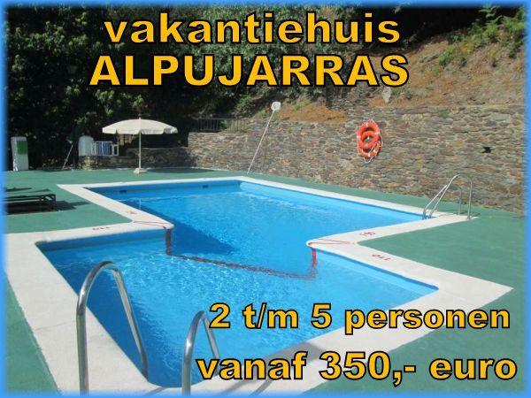 vakantiehuis Alpujarras