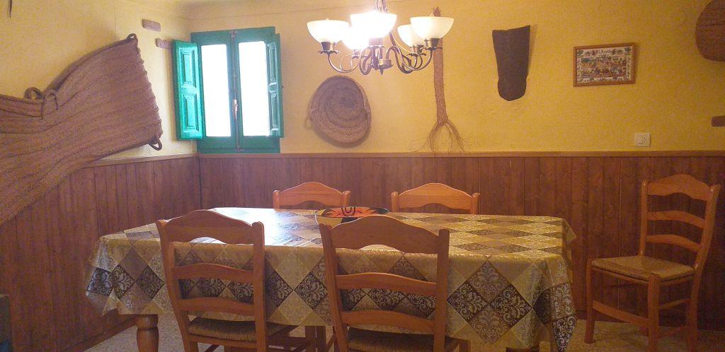 eetkamer vakantiehuis DE TOREN
