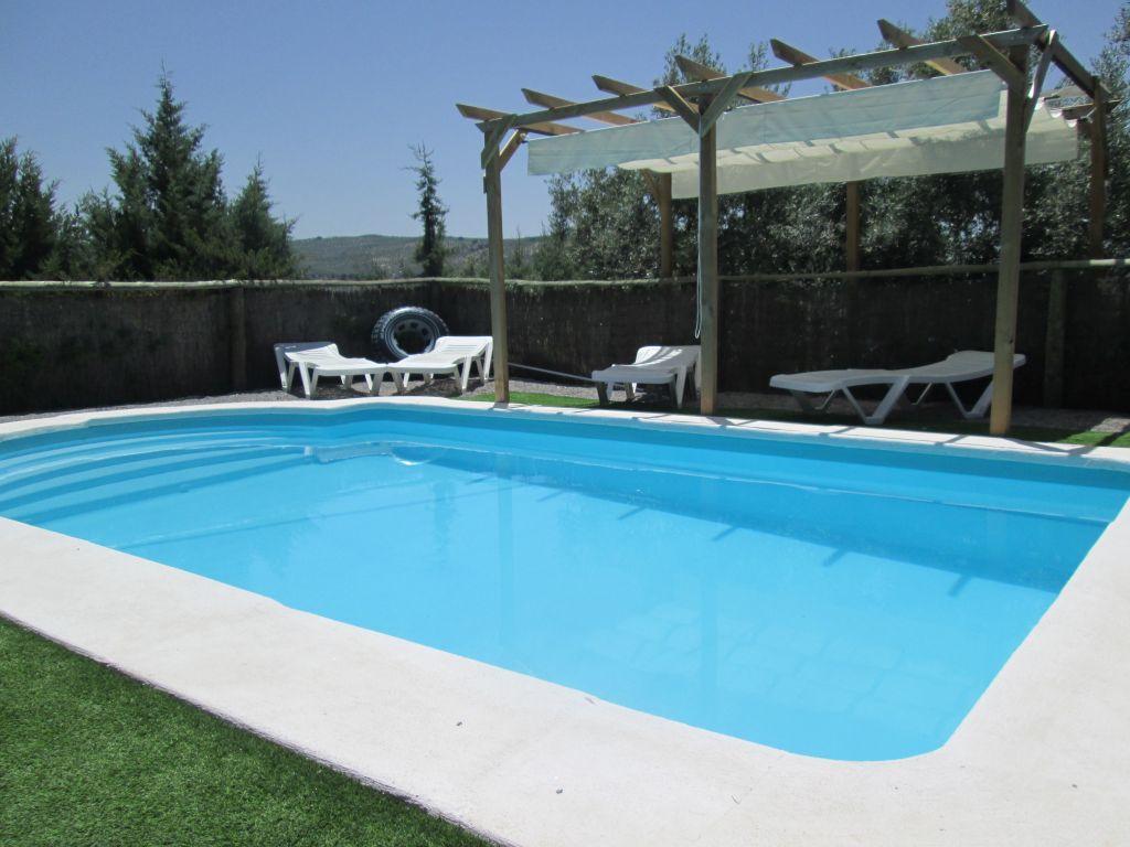 prive zwembad vakantiehuis ritas chalet andalusie