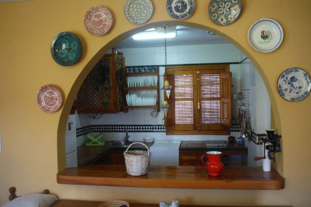 keuken van vakantiewoning
