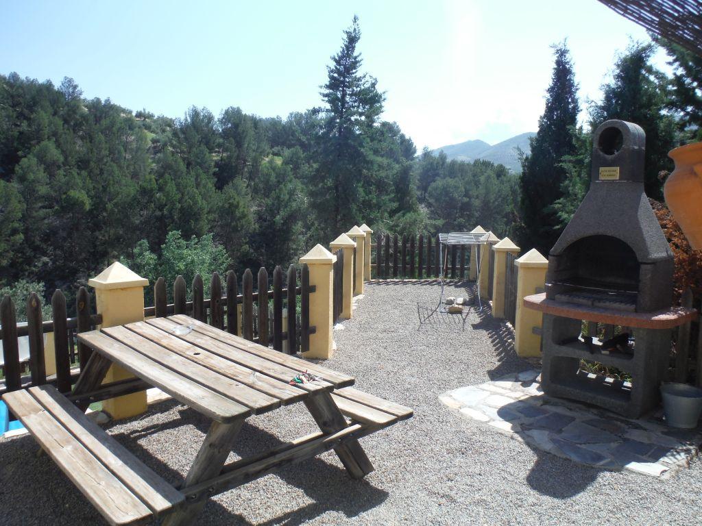 deel van vakantiehuis DE BEEK Andalusie met barbeque