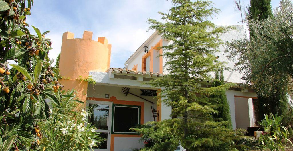 toegang vakantiehuis DE TOREN