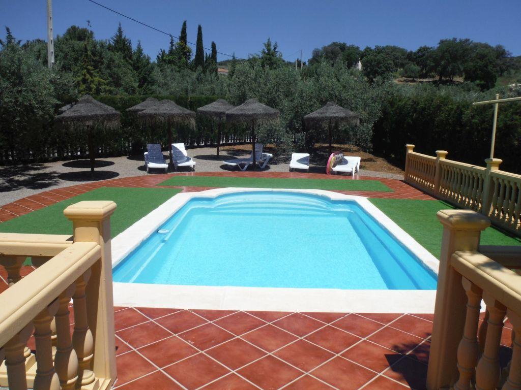 zwembad vakantievilla spanje andalusie