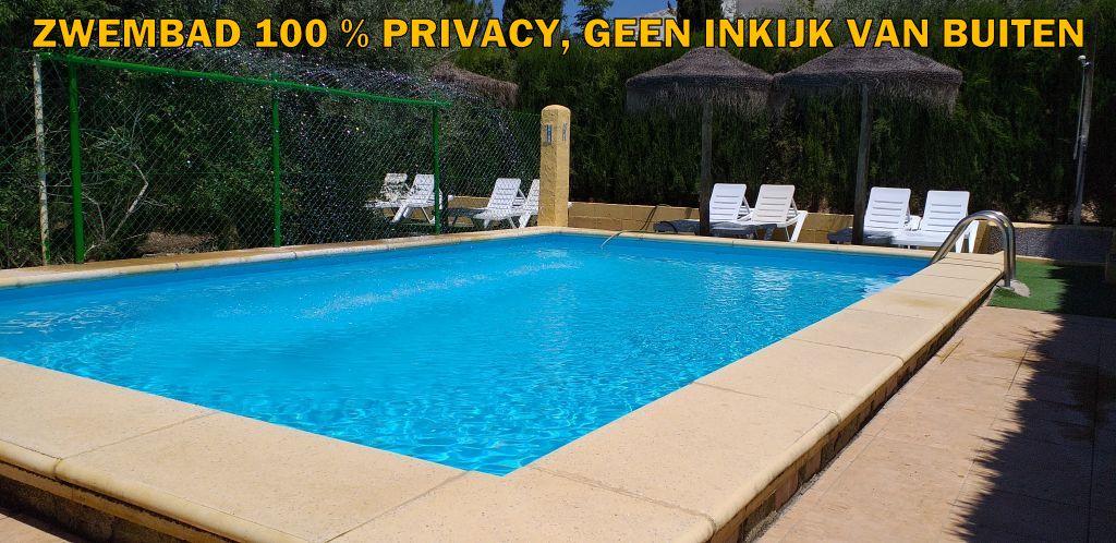 zwembad huis DE TOREN 2020